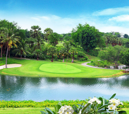 Overview of golf course named Blue Sapphire Golf and Resort