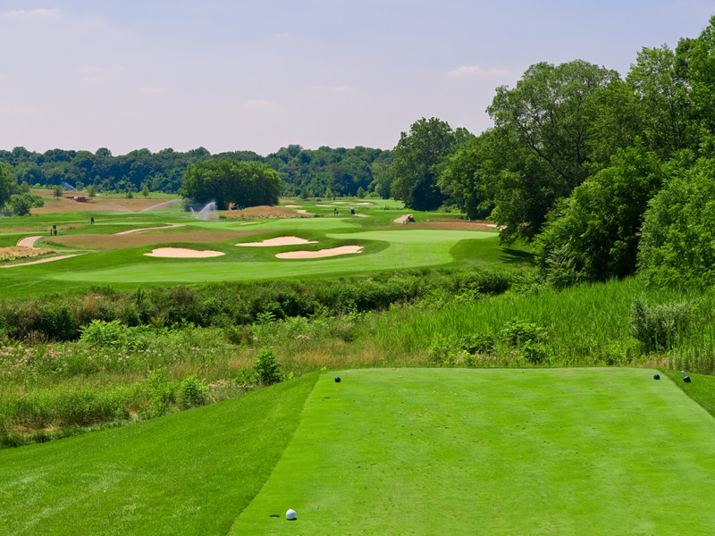 Overview of golf course named White Clay Creek Country Club at Delaware Park