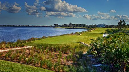 Overview of golf course named The Floridian