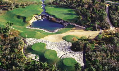 Overview of golf course named Guavaberry Resort and Country Club