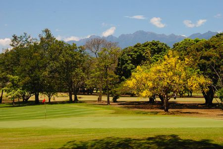 Overview of golf course named Club Campestre de Cali