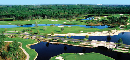 Overview of golf course named Hammock Beach Resort - The Conservatory
