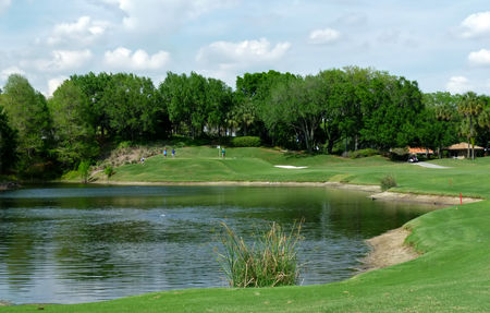Overview of golf course named Grand Cypress