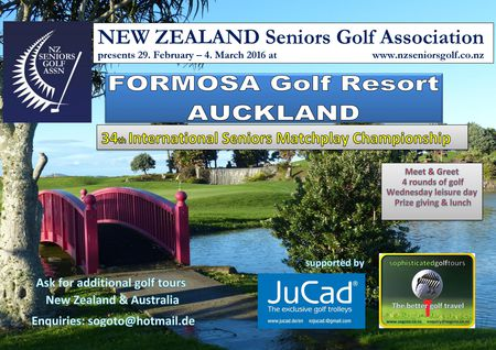 International NZ Senior Open Auckland 2016 Cover
