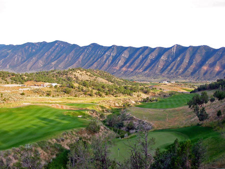 Overview of golf course named Lakota Canyon Ranch Golf Club