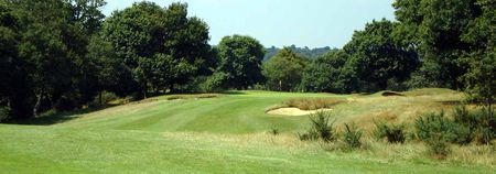 Overview of golf course named Royal Wimbledon Golf Club