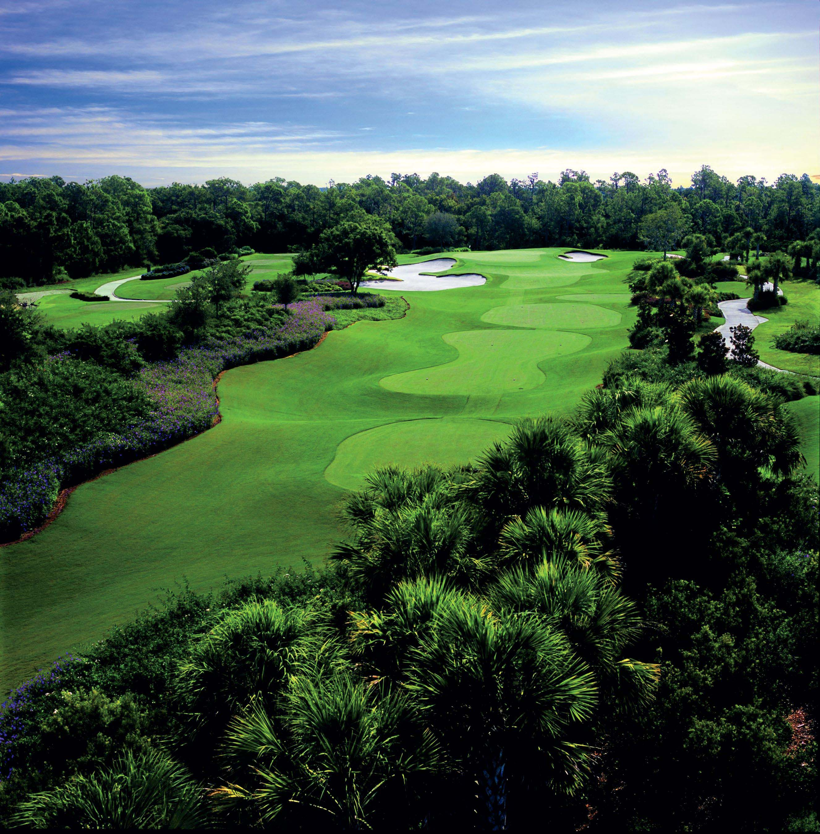 Overview of golf course named Ritz-Carlton Members Club Sarasota