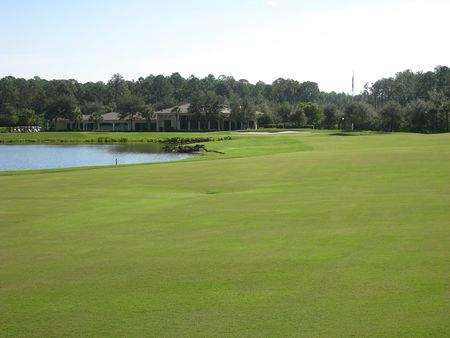 Overview of golf course named Hideout Golf Club