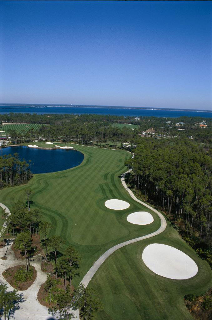 Overview of golf course named Regatta Bay Golf and Country Club