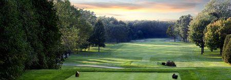 Overview of golf course named Le Club Laval-Sur-Le-Lac - Vert