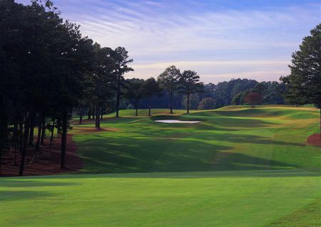 University of georgia golf course cover picture