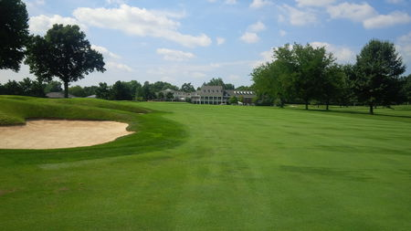 Overview of golf course named Idle Hour Country Club