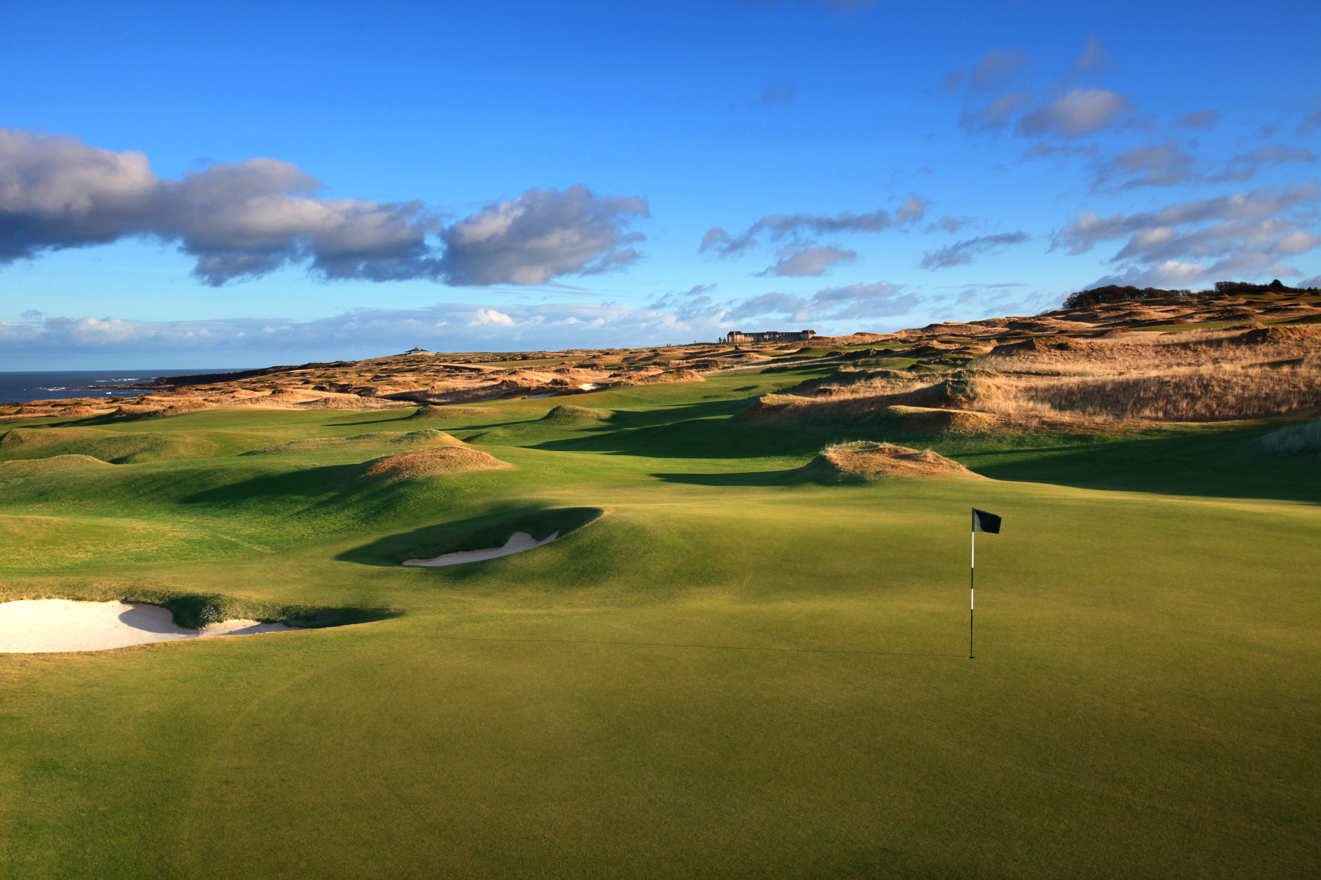 Overview of golf course named St Andrews - The Castle Course