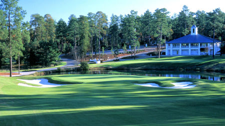 Overview of golf course named Pinehurst No. 7