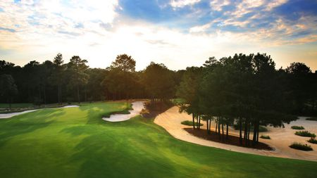 Overview of golf course named Pinehurst No. 8