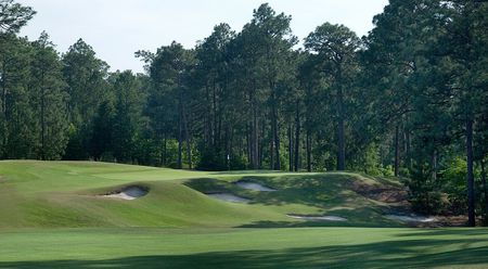 Overview of golf course named Pinehurst No. 9