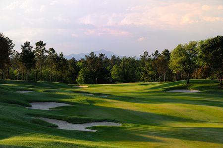 Overview of golf course named PGA Catalunya Resort - Tour Course
