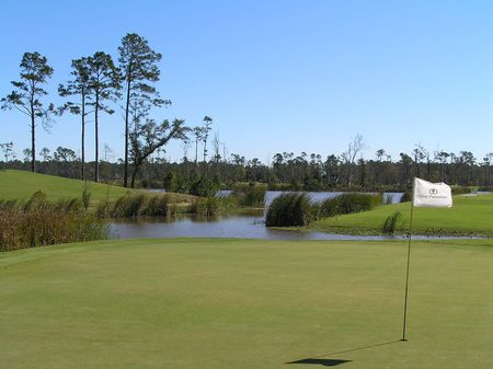 Overview of golf course named Gray Plantation