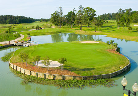 Overview of golf course named Koasati Pines at Coushatta