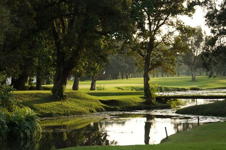 Overview of golf course named Kinshasa Golf Club