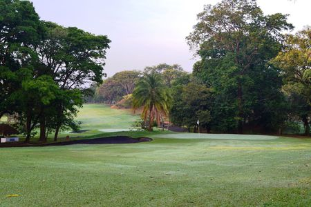 Overview of golf course named Lubumbashi Golf Club