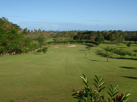 Overview of golf course named Tahiti International Golf Club
