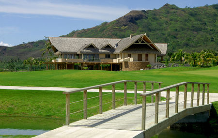 Overview of golf course named Moorea Green Pearl Golf Course