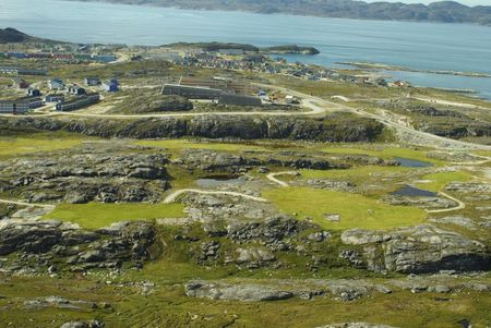 Overview of golf course named Nuuk Golf Club