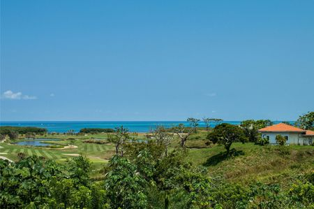 Overview of golf course named Black Pearl at Pristine Bay Resort
