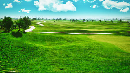 Overview of golf course named Kuwait International Golf and Country Club