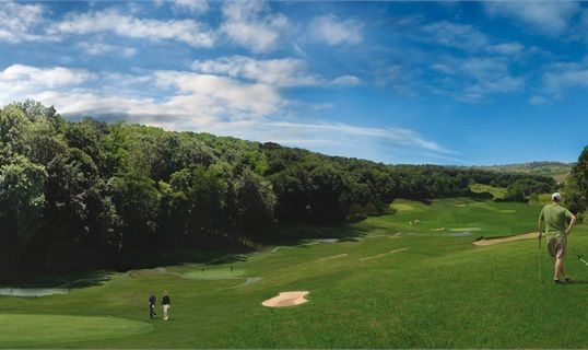 Overview of golf course named Sveti Martin Spa and Golf Resort
