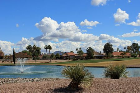Overview of golf course named Cottonwood Country Club