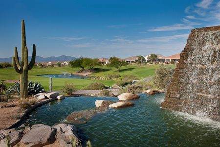 Overview of golf course named Highlands at Dove Mountain
