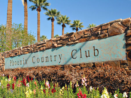 Overview of golf course named Phoenix Country Club