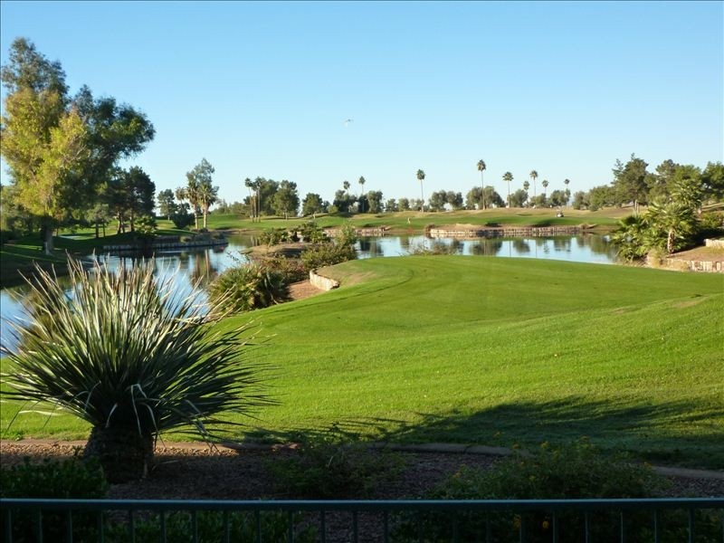 Overview of golf course named Superstition Springs Golf Club