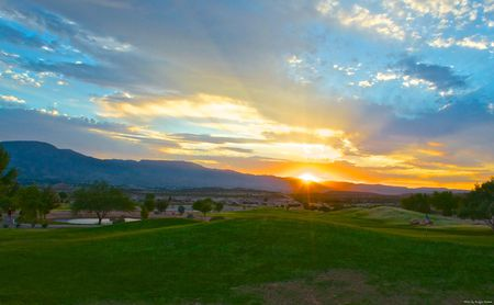 Verde santa fe golf course cover picture