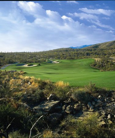 Overview of golf course named Arizona National Golf Club