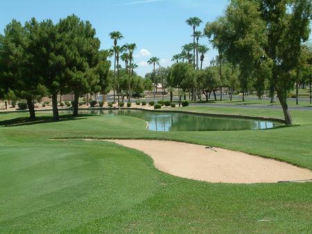 Sun village golf course cover picture