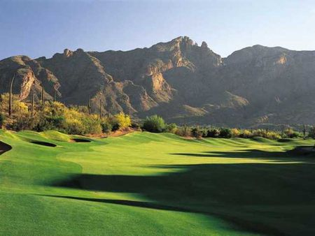 Overview of golf course named La Paloma Country Club