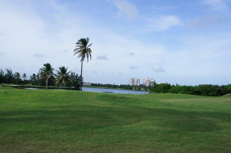 Overview of golf course named Mullet Bay Golf Course