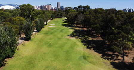 Overview of golf course named North Adelaide Golf Course - North Course