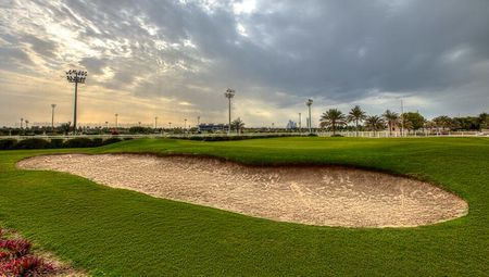 Overview of golf course named Abu Dhabi City Golf Club