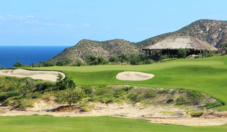 Overview of golf course named Chileno Bay