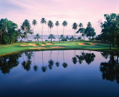 Overview of golf course named TPC Dorado Beach - East Course