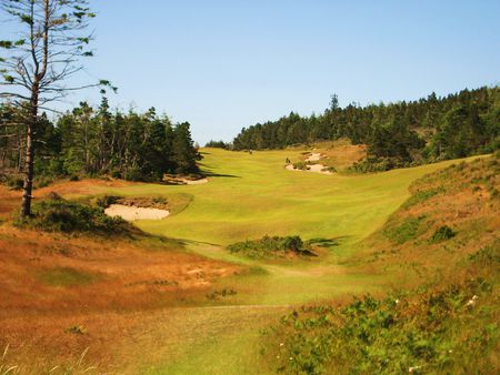 Overview of golf course named Bandon Trails at Bandon Dunes Resort