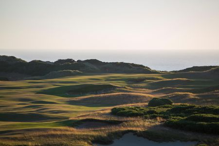 Overview of golf course named Old Macdonald at Bandon Dunes Resort