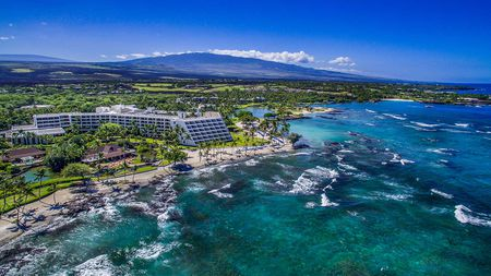 Overview of golf course named Mauna Lani Resort