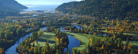 Overview of golf course named The Idaho Club