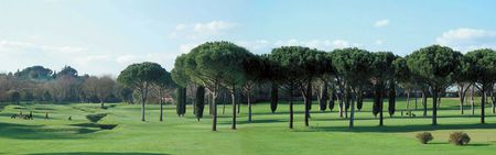 Overview of golf course named Circolo Del Golf Roma Acquasanta