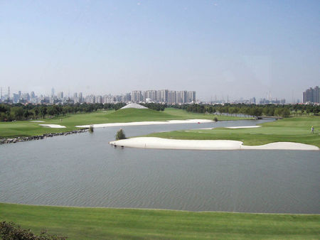 Overview of golf course named Tomson Shanghai Pudong Golf Club
